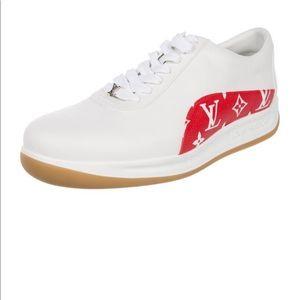 Louis Vuitton Supreme 17Monogram Sport Sneakers